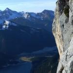 Tennheimer Berge - Alpin Klettern auch im Winter